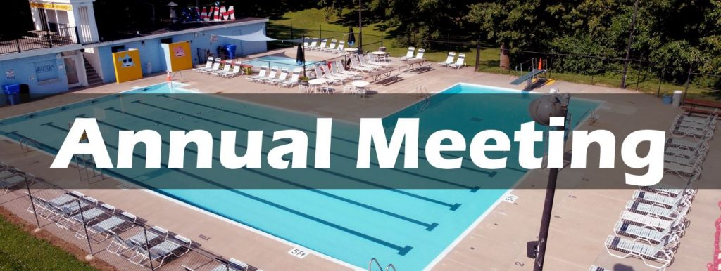 Annual Meeting-Saturday July 11th at 7pm